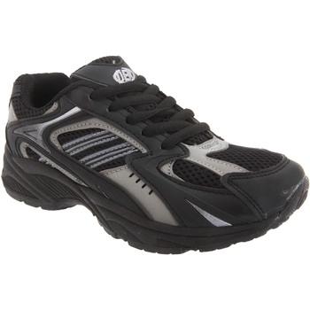 Sko Dreng Lave sneakers Dek Venus III Black/Charcoal Grey