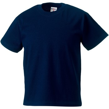 textil Børn T-shirts m. korte ærmer Jerzees Schoolgear ZT180B French Navy