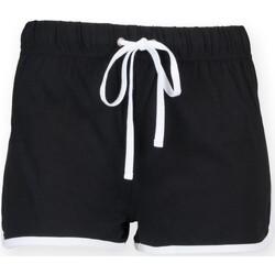 textil Børn Shorts Skinni Fit SM069 Black / White