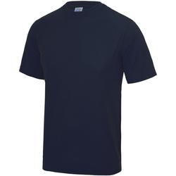 textil Børn T-shirts m. korte ærmer Awdis JC01J French Navy