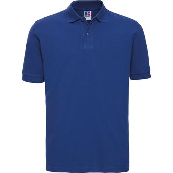 textil Herre Polo-t-shirts m. korte ærmer Russell 569M Bright Royal