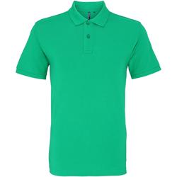 textil Herre Polo-t-shirts m. korte ærmer Asquith & Fox AQ010 Kelly