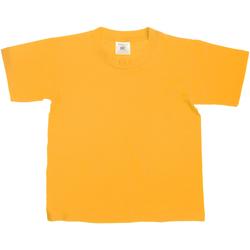 textil Børn T-shirts m. korte ærmer B And C TK300 Gold
