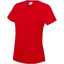 textil Dame T-shirts m. korte ærmer Awdis JC005 Fire Red
