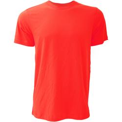 textil Herre T-shirts m. korte ærmer Bella + Canvas CA3001 Red