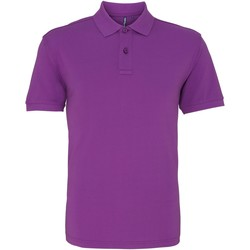 textil Herre Polo-t-shirts m. korte ærmer Asquith & Fox AQ010 Orchid