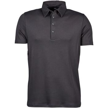 textil Herre Polo-t-shirts m. korte ærmer Tee Jays TJ1440 Dark Grey