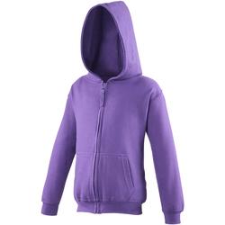 textil Børn Sweatshirts Awdis JH50J Purple