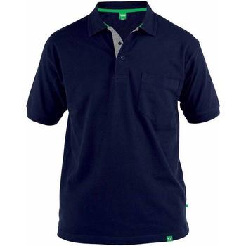 textil Herre Polo-t-shirts m. korte ærmer Duke  Navy