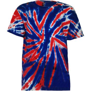 textil Børn T-shirts m. korte ærmer Colortone TD02B Union Jack