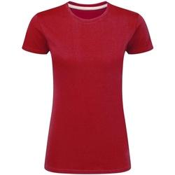 textil Dame T-shirts m. korte ærmer Sg Perfect Red