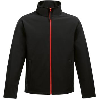 textil Herre Jakker Regatta Ablaze Black/Classic Red