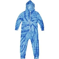 textil Børn Pyjamas / Natskjorte Colortone Die Tye Spider Royal