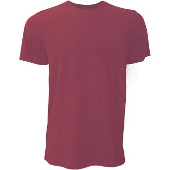 textil Herre T-shirts m. korte ærmer Bella + Canvas CA3001 Heather Cardinal