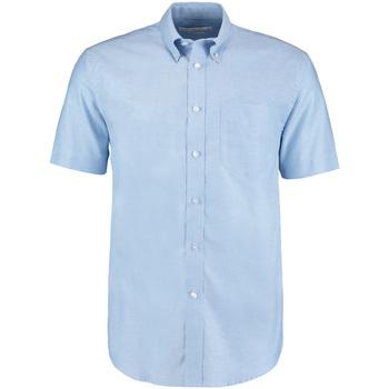 textil Herre Skjorter m. korte ærmer Kustom Kit KK350 Light Blue
