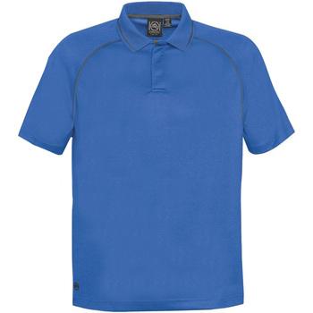 textil Herre Polo-t-shirts m. korte ærmer Stormtech GPX-4 Azure/Carbon