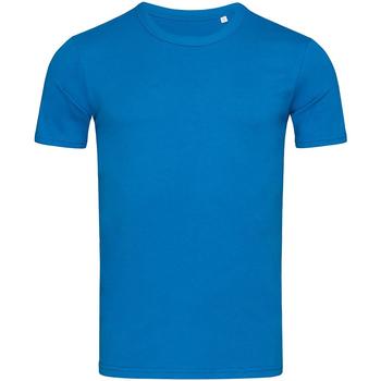 textil Herre T-shirts m. korte ærmer Stedman Stars Morgan King Blue