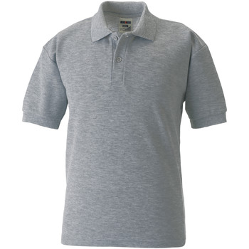 textil Børn Polo-t-shirts m. korte ærmer Jerzees Schoolgear 539B Light Oxford