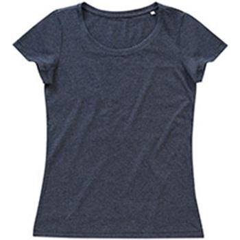 textil Dame T-shirts m. korte ærmer Stedman Stars Lisa Charcoal Heather Grey
