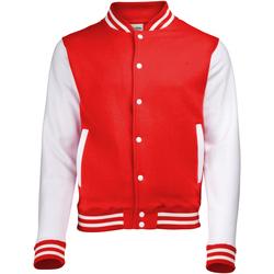 textil Jakker Awdis JH043 Fire Red / White