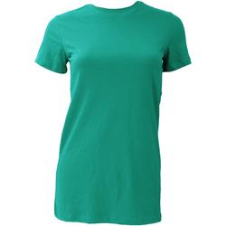textil Dame T-shirts m. korte ærmer Bella + Canvas BE6004 Teal