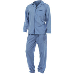 textil Herre Pyjamas / Natskjorte Universal Textiles  Blue