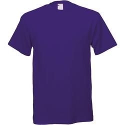 textil Herre T-shirts m. korte ærmer Universal Textiles 61082 Grape