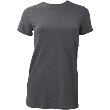 textil Dame T-shirts m. korte ærmer Bella + Canvas BE6004 Dark Heather