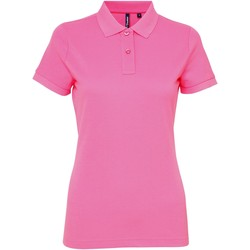 textil Dame Polo-t-shirts m. korte ærmer Asquith & Fox AQ025 Neon Pink