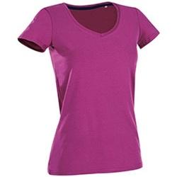 textil Dame T-shirts m. korte ærmer Stedman Stars Claire Cupcake Pink