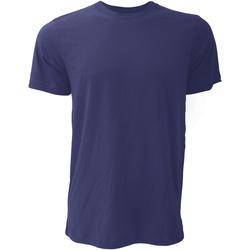 textil Herre T-shirts m. korte ærmer Bella + Canvas CA3001 Navy Blue