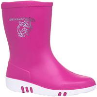 Sko Børn Gummistøvler Dunlop  Pink