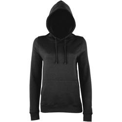 textil Dame Sweatshirts Awdis Girlie Storm Grey