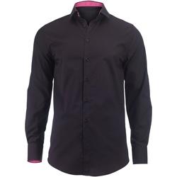 textil Herre Skjorter m. lange ærmer Alexandra Hospitality Black/ Pink
