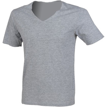 textil Herre T-shirts m. korte ærmer Sf SF223 Heather Grey