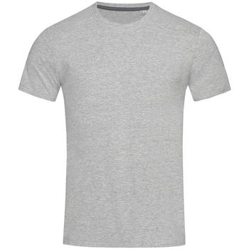 textil Herre T-shirts m. korte ærmer Stedman Stars  Heather Grey
