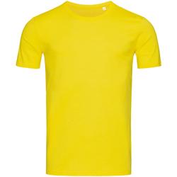 textil Herre T-shirts m. korte ærmer Stedman Stars Morgan Daisy Yellow