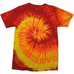 textil Dame T-shirts m. korte ærmer Colortone Rainbow Blaze