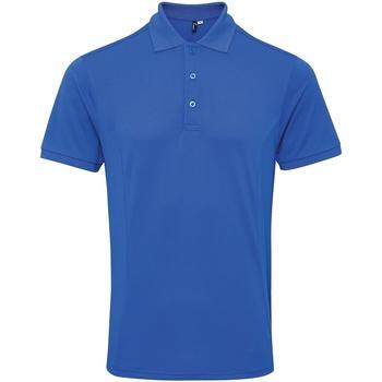 textil Herre Polo-t-shirts m. korte ærmer Premier PR630 Royal