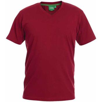 textil Herre T-shirts m. korte ærmer Duke Signature-2 Red