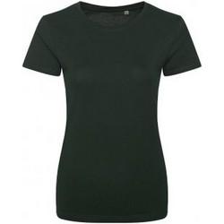 textil Dame T-shirts m. korte ærmer Ecologie EA01F Bottle