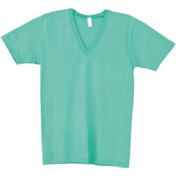 textil Herre T-shirts m. korte ærmer American Apparel AA049 Mint