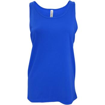 textil Dame Toppe / T-shirts uden ærmer Bella + Canvas CA3480 True Royal