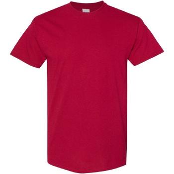 textil Herre T-shirts m. korte ærmer Gildan Heavy Cardinal
