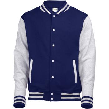 textil Jakker Awdis JH043 Oxford Navy / Heather Grey