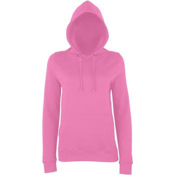 textil Dame Sweatshirts Awdis Girlie Candyfloss Pink