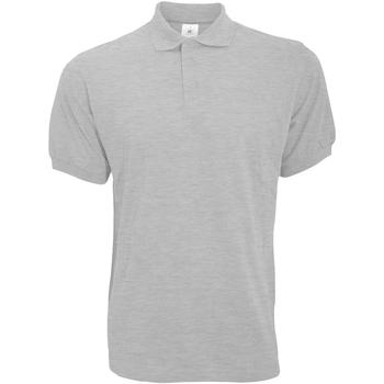 textil Herre Polo-t-shirts m. korte ærmer B And C PU409 Ash