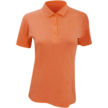textil Dame Polo-t-shirts m. korte ærmer Anvil 6280L Mandarin Orange