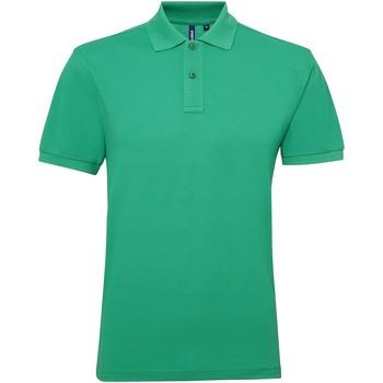 textil Herre Polo-t-shirts m. korte ærmer Asquith & Fox AQ015 Kelly