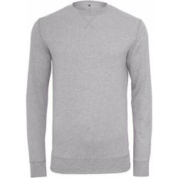 textil Herre Sweatshirts Build Your Brand BY010 Heather Grey